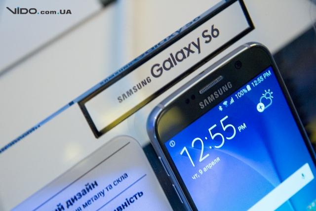 В Украине официально представлены смартфоны Samsung Galaxy S6 и Galaxy S6 edge