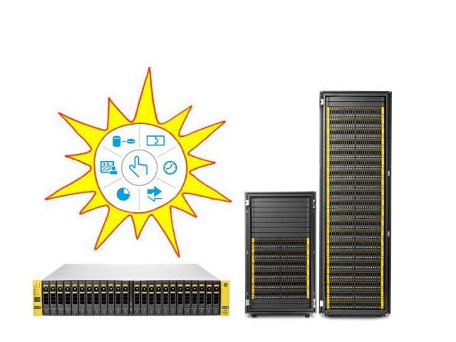 СХД HP 3PAR StoreServ 7000: функциональность и совместимость