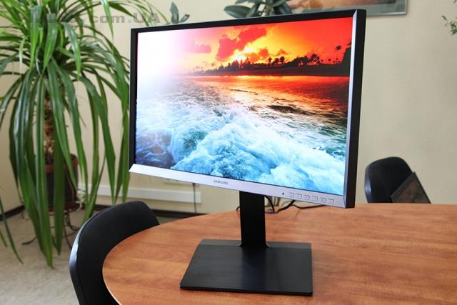 Обзор монитора Samsung S27D850T: с бизнесом на ты!