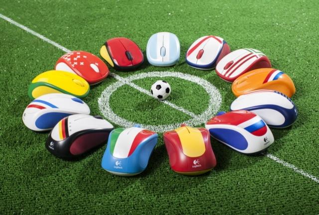 Logitech Global Fan Collection – футбольные мышки