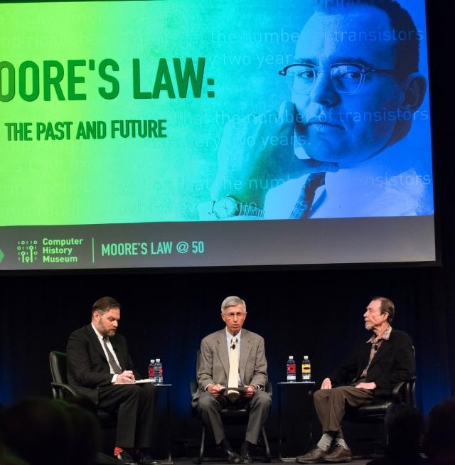 Кремниевая Долина отмечает юбилей закона Мура и с нетерпением смотрит в ближайшие 50 лет
