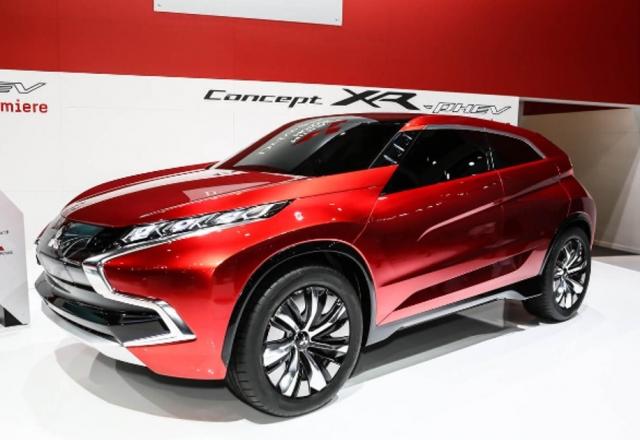 Новый гибридный внедорожник Mitsubishi
