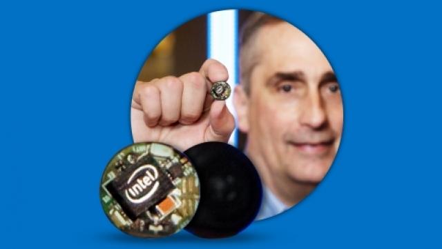 Анонс модуля Intel Curie в рамках выставки CES