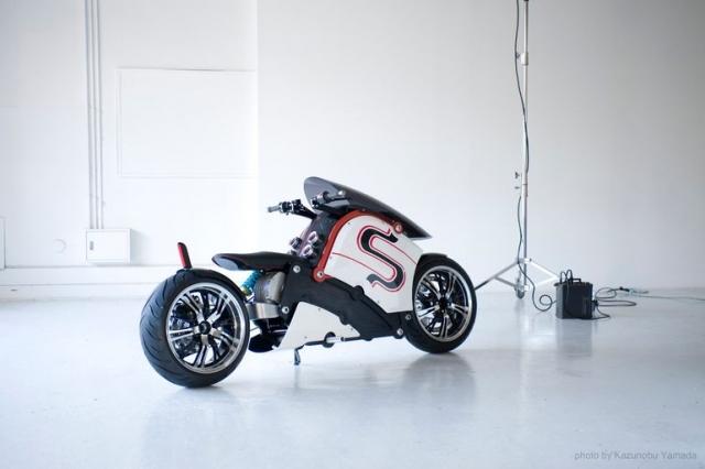 Электрический «лоурайд» мотоцикл zec00 пошел в производство