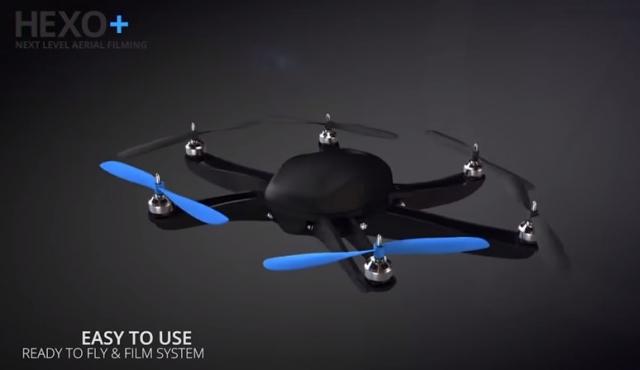 HEXO+ идет в Голливуд со своим прототипом преследующего дрона