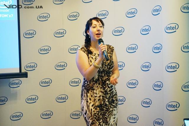 Компания Intel провела в Киеве мероприятие, посвященное развитию платформы для мобильных устройств