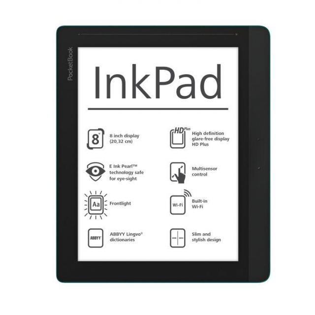 PocketBook InkPad - 8-дюймовый E-Ink ридер