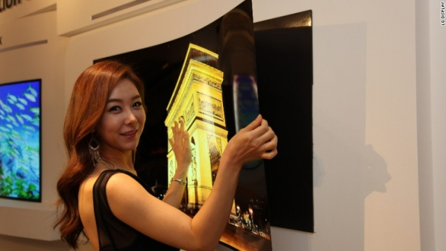 Увидим ли мы тонкие, как бумага OLED телевизоры LG?