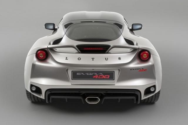 Представлена новая модель Lotus Evora 400