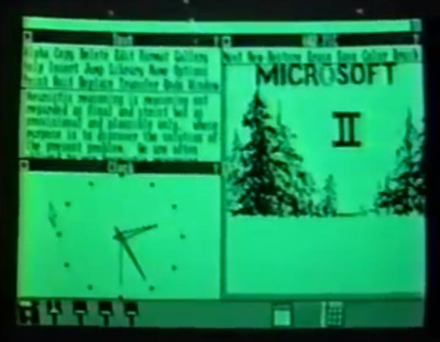 Ретроспектива: как выглядела Windows за два месяца до дебюта Macintosh