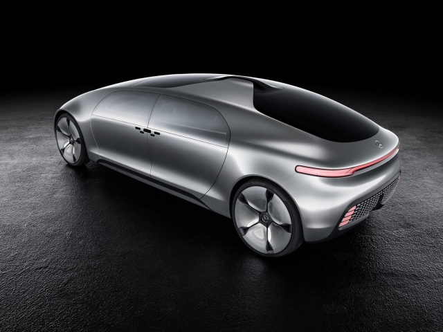 Mercedes-Benz представили свою версию автономного автомобиля F015