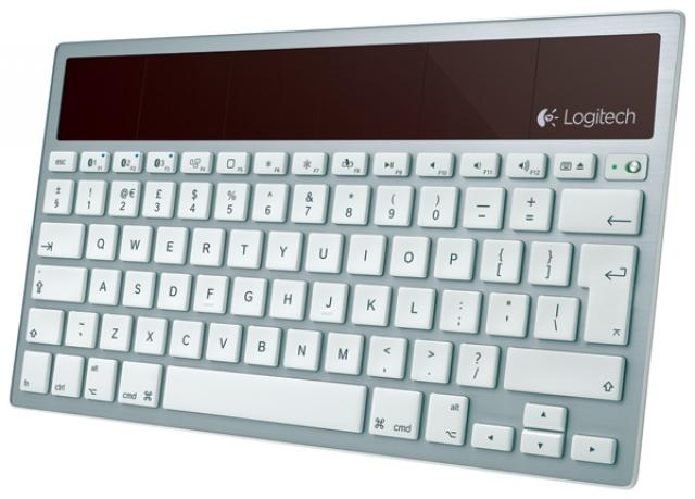 Клавиатура Logitech на солнечных батареях для Mac, iPad и iPhone