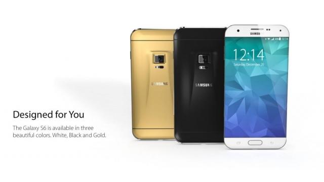 Смартфон моей мечты: Samsung Galaxy S6 в ультратонком корпусе с датчиком Iris Scanner