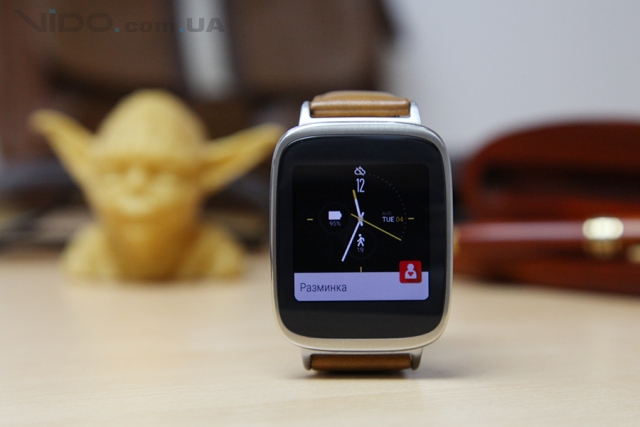 Обзор смарт-часов ASUS ZenWatch: в гармонии со смартфоном