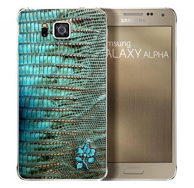Samsung представила ограниченный выпуск смартфона Galaxy Alpha с кожаными задними крышками