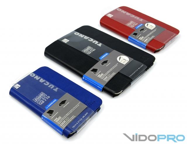 Чехлы Tucano Folio Case Leggero: одежка для планшетов Samsung Galaxy Tab