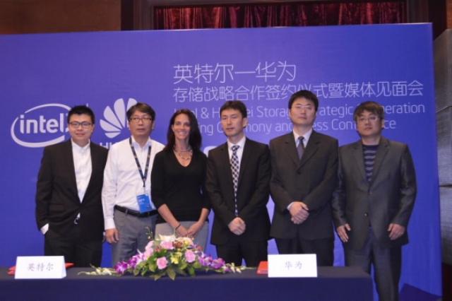 Партнерство Huawei и Intel