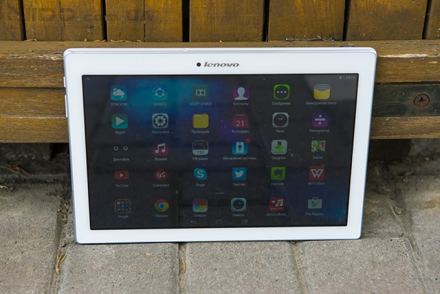 Обзор планшета Lenovo TAB 2 A10-70: в гармонии с собой