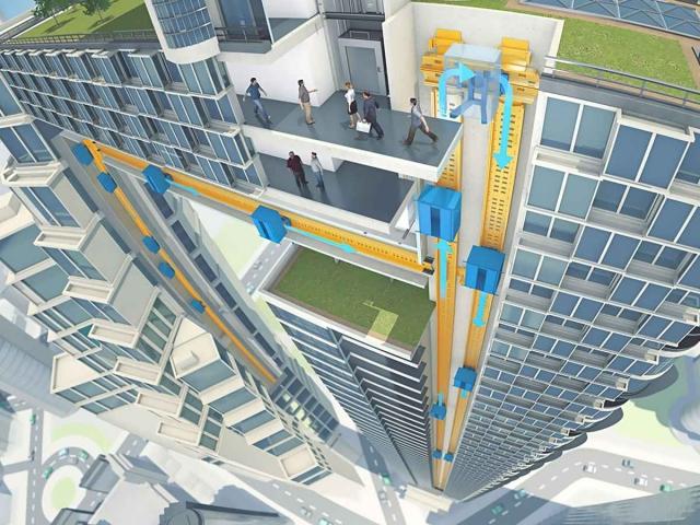 Испытательная башня для маглев-лифтов почти готова поднять вас вверх... и вбок