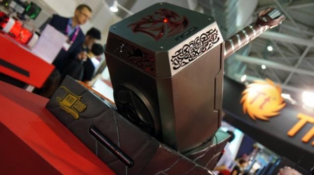 А вы сможете поднять молота Тора в виде корпуса для ПК?