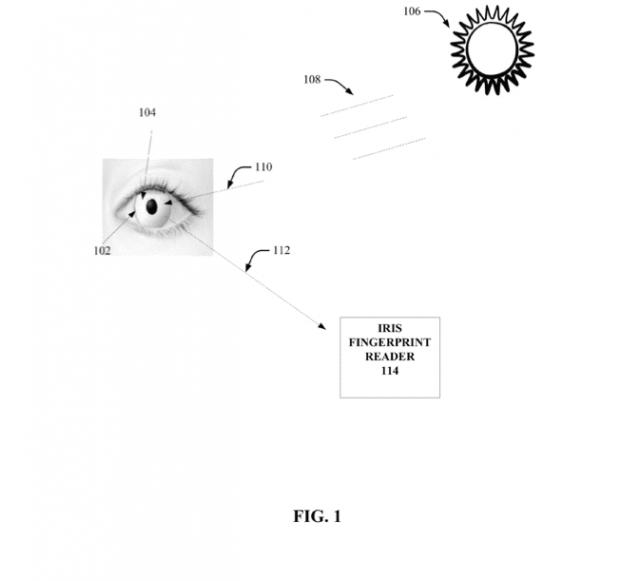 Google хочет запатентовать умные контактные линзы для сканирования радужной оболочки
