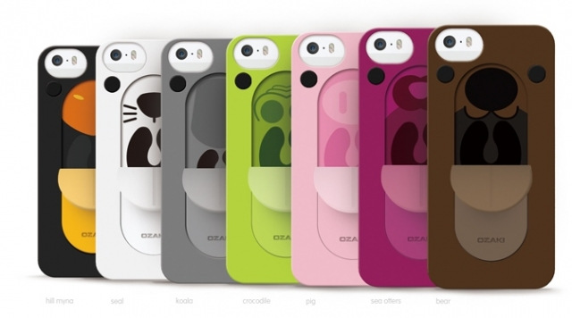 Чехлы OZAKI O!coat Faagaa Seal for iPhone 5/5S: симпатичный мимими
