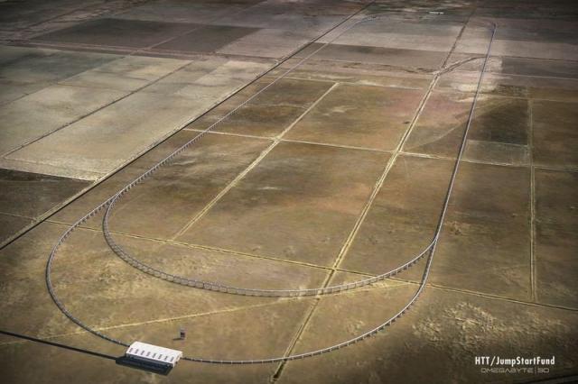 Футуристический Нyperloop может скоро стать общественным транспортом