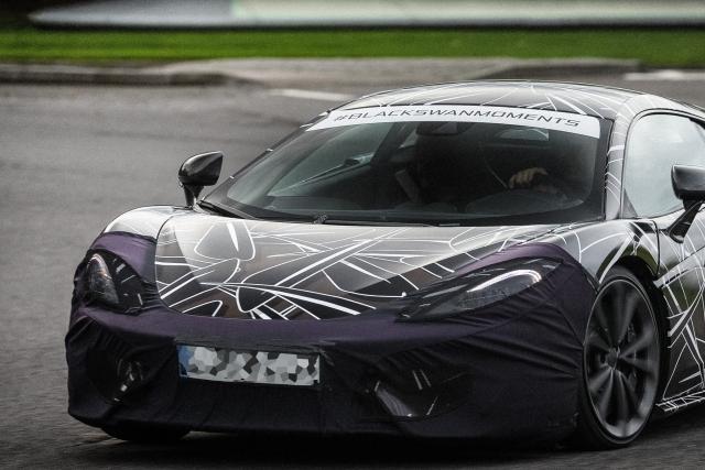 McLaren напомнила о выходе нового спортивного автомобиля Sports Series
