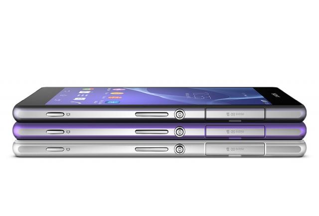 Смартфон Xperia Z2 уже в Украине