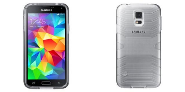 Первые фото чехлов Samsung для Galaxy S5