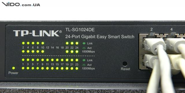 Обзор коммутатора TP-LINK TL-SG1024DE: подключи и работай