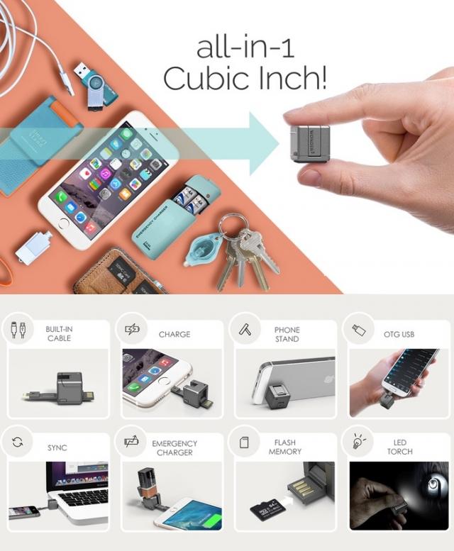 WonderCube – аксессуар для смартфона 8-в-1