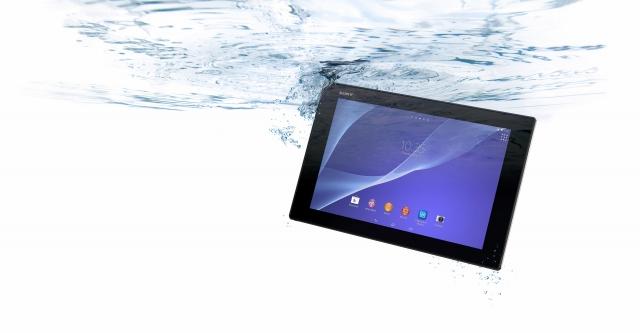 Старт продаж Xperia Z2 Tablet в апреле