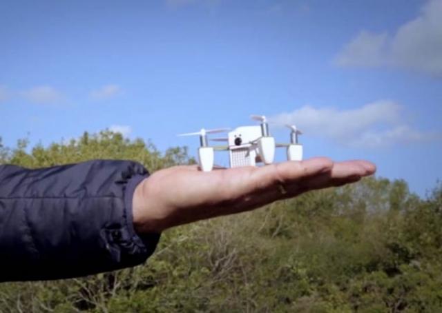 Новый дрон ZANO для любителей съемки селфи с неба