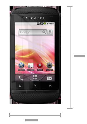 Alcatel выпустила Android-смартфон начального уровня с 2-мя SIM-картами.
