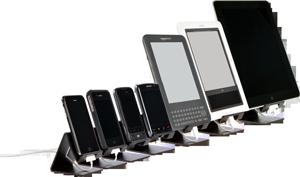 12-летний американец изобрел универсальную подставку для планшетов, смартфонов, электронных книг.