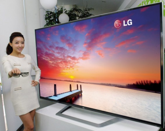 LG анонсировала 84-дюймовый 3D TV.
