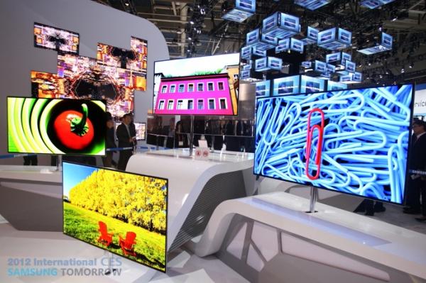 CES 2012: самый большой OLED-телевизор Samsung