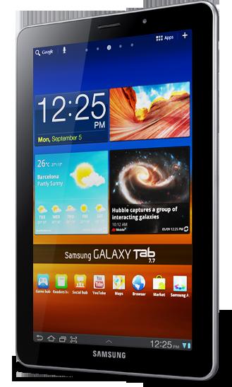 CES-2012: Samsung Galaxy Tab 7.7 - первый в мире планшет с дисплеем Super AMOLED Plus