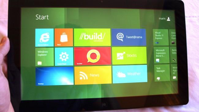 Требования к аппаратному обеспечению планшетов на Windows 8