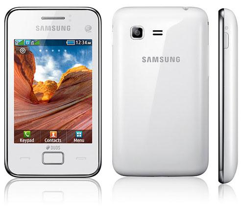 Samsung анонсировала  мобильные телефоны Star 3 и Star 3 DUOS
