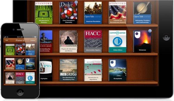 Apple выпустила приложения iBooks 2, Author и iTunes U