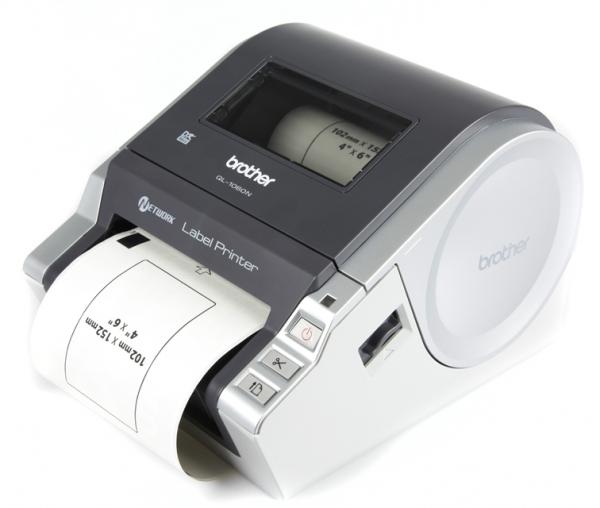 Brother QL-1060N: печатаем и клеим