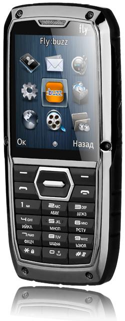 Мобильный телефон Fly OD1: крепкий и надежный