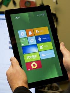 Поддержка сенсоров в Windows 8