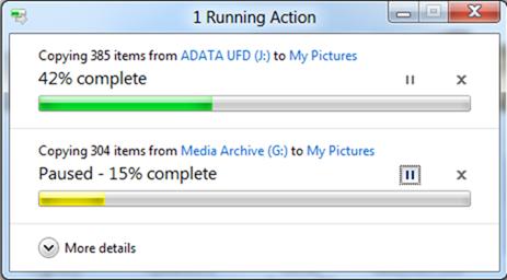 Изменения в Windows 8: основные операции с файлами