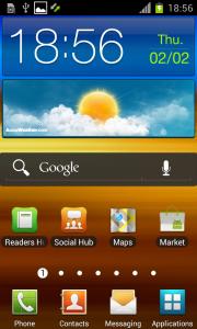 Официальный Android 4.0.3 ICS для Samsung Galaxy S II