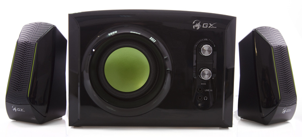 Обзор акустики GENIUS SW-G2.1 1200 GX