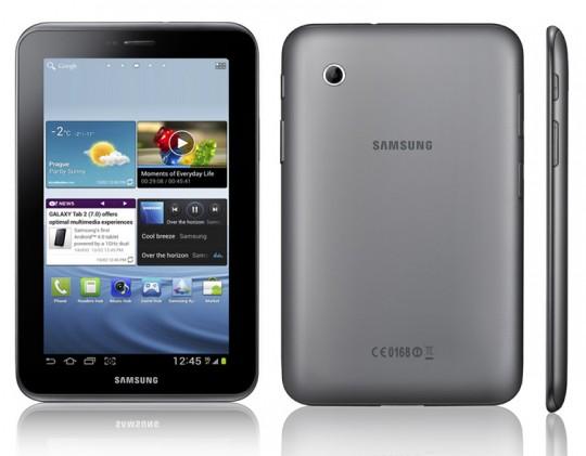 Samsung пополняет свою линейку планшетов 7-дюймовой моделью GALAXY Tab 2 на ОС Android 4.0