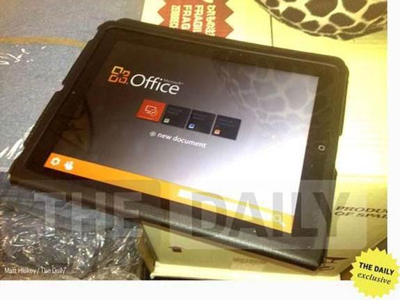 Microsoft Office готовится выйти на IOS